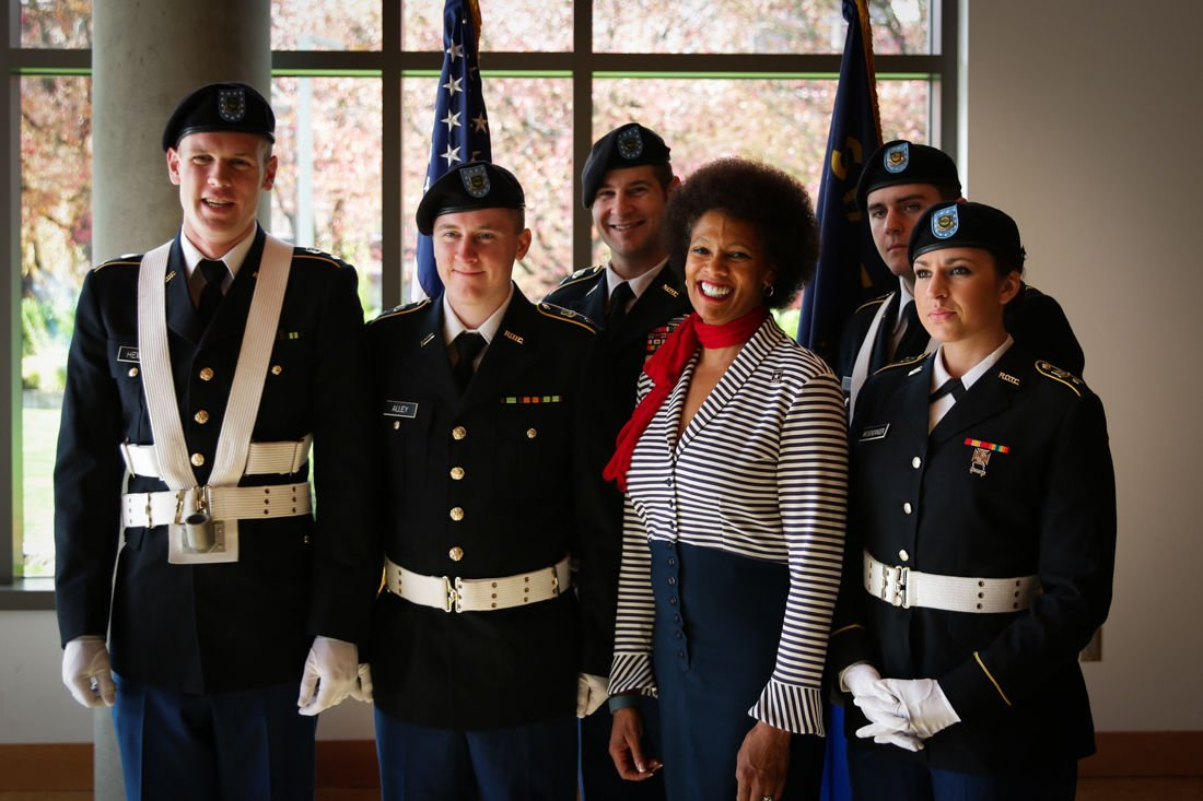 Photos: Veterans Day Recognition Ceremony