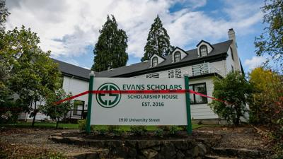 Evans Scholarship house opens at University of Oregon