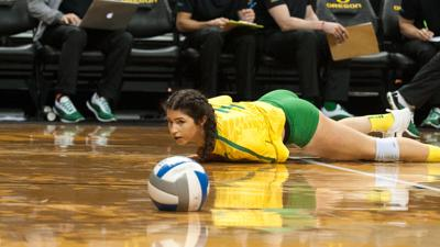 BYU sweeps Oregon in second round of NCAA Tournament, ends Ducks' season