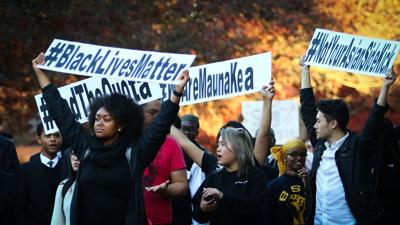 Student group leads charge for racial equity