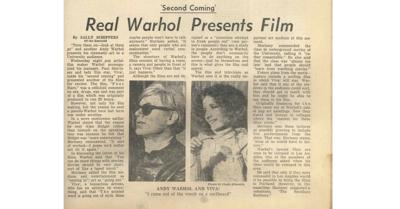 #TBT to that time Andy Warhol sent an imposter to UO
