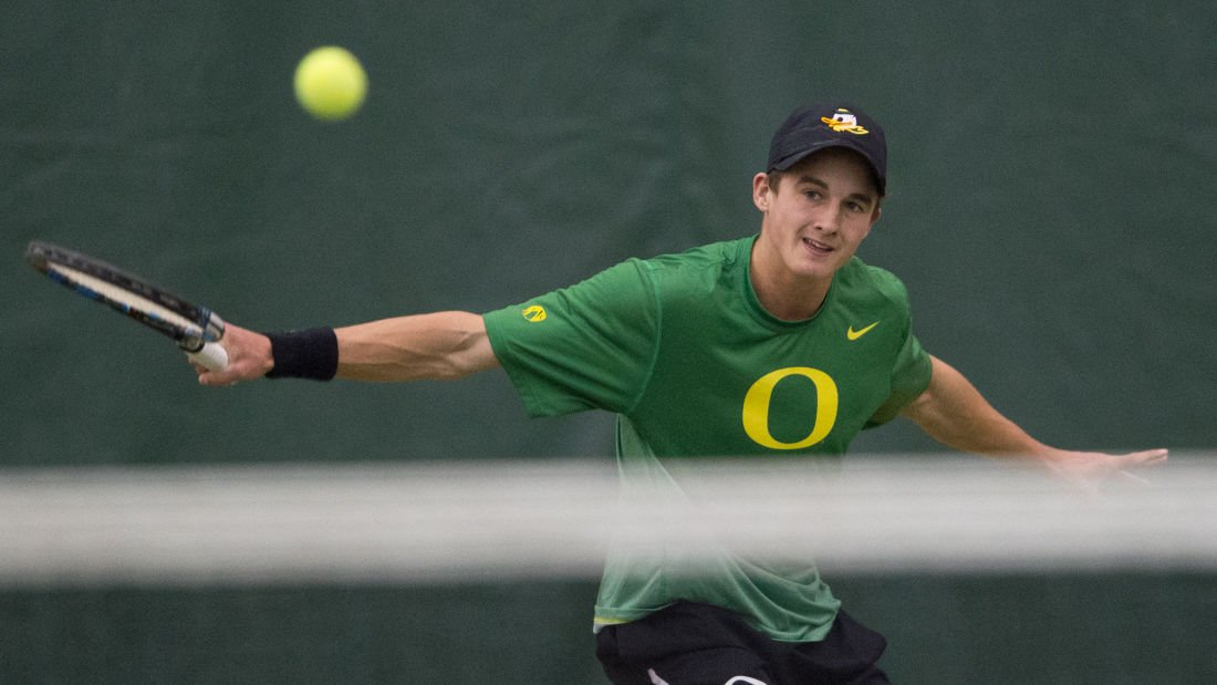 Photos: No. 42 Oregon Men's Tennis shuts out Northern Arizona 7-0