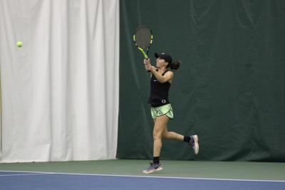 Oregon women's tennis defeats Baylor in another thriller