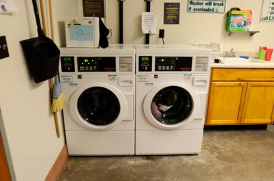 Students feeling all washed up dealing with campus laundry rooms