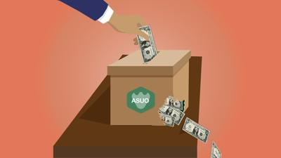 ASUO Fundraising Illustration