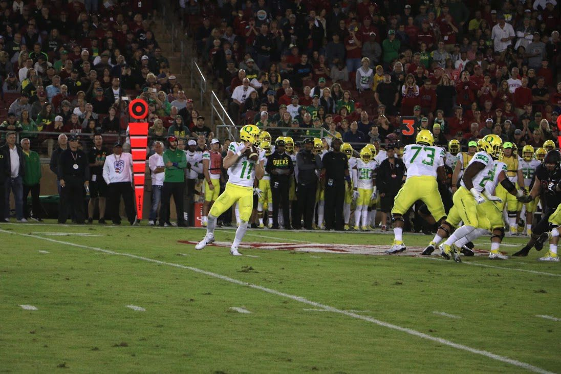 Oregon's offense is living its nightmare