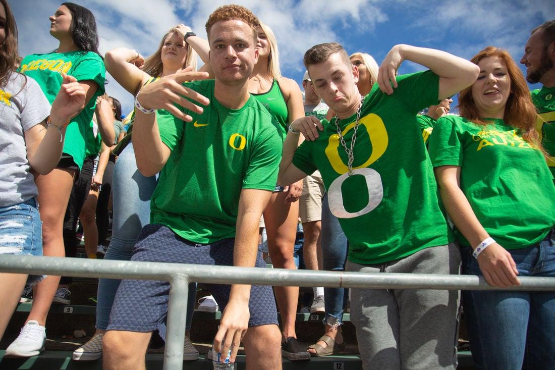 Photos: Oregon Ducks Football bests the Portland State Vikings 35-7 at the half