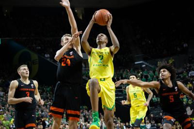 641e002ac7c0 Oregon men s basketball loses Pac-12 opener to Oregon State