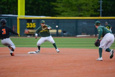 Oregon baseball loses to No. 1 Oregon State 1-0 to extend losing streak to seven games