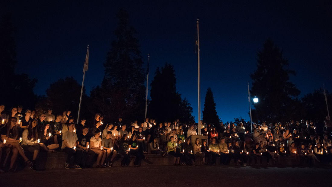Photos: UO honors the victims of the UCC shooting
