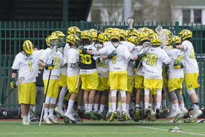 Oregon men's lacrosse will head to Southern California to play defending national champions