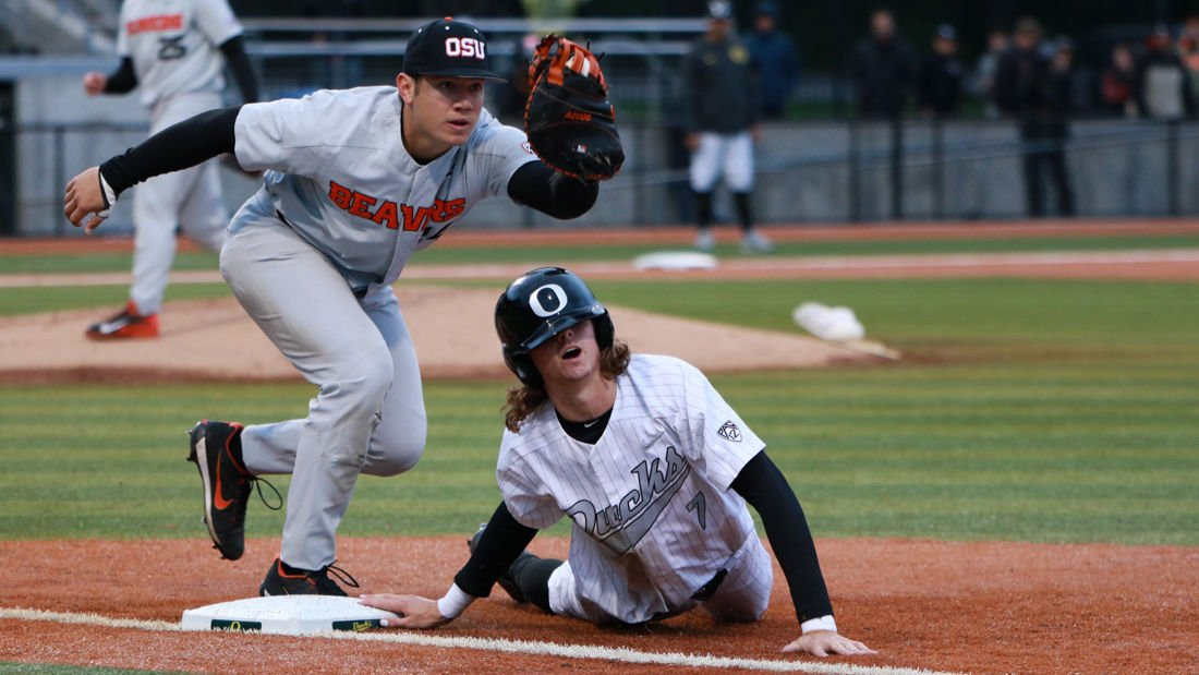 Photos: The Oregon Ducks fall to Oregon State 5-4 in the second game of Civil War Series