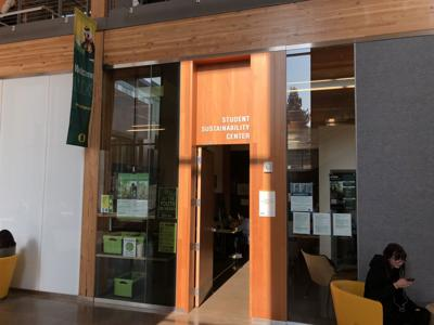 Student Sustainability Center at the EMU