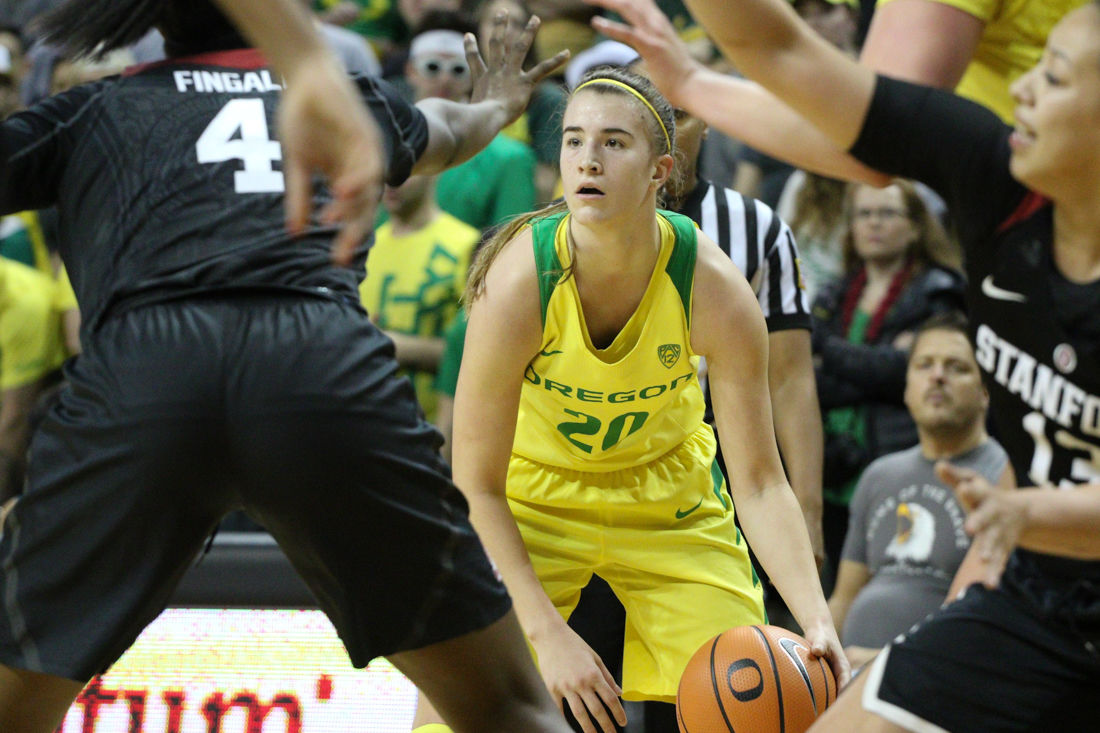 Photos: The Oregon Ducks fall to the Stanford Cardinals 78-65