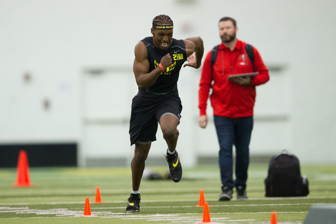 Photos: Oregon football hosts its annual Pro Day