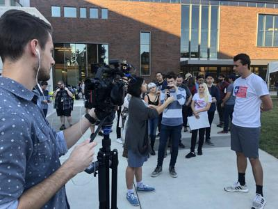 Leader of Conservative group Turning Point USA visits UO