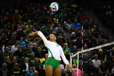 Oregon Volleyball defeats Murray State and San Diego State in Friday doubleheader