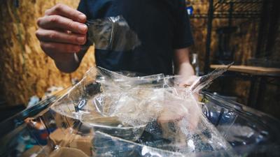 Local startup AlgoteK creates dissolving plastic