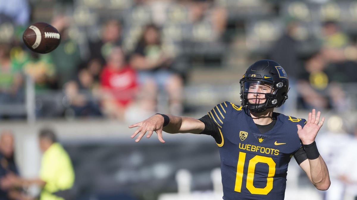 Straight Outta Sheldon: Freshman quarterback Justin Herbert is a homegrown talent