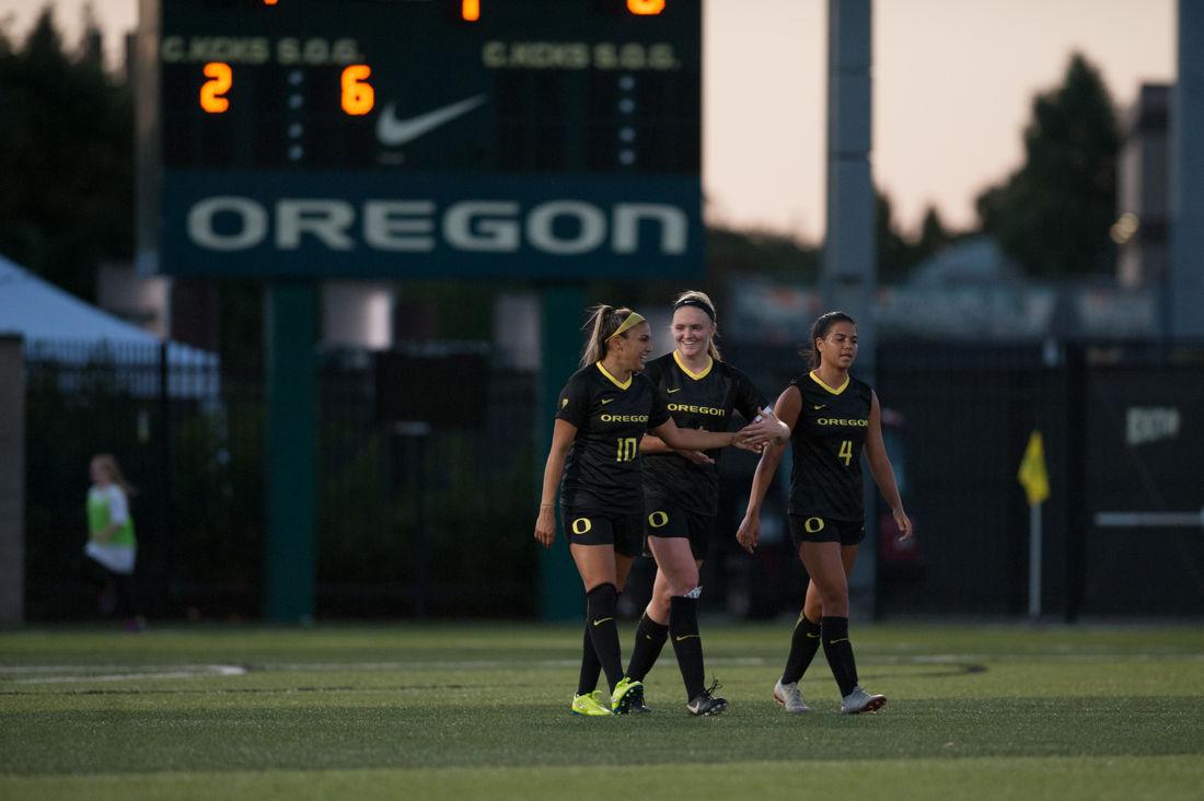 Photos: Oregon Women's Soccer defeat Dartmouth 2-0