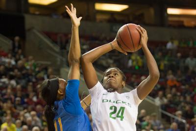 In a physical win, Ruthy Hebard proves she's near-unstoppable at her best