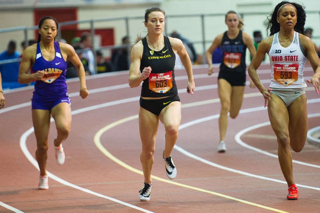 Twins Venessa and Kerissa D'Arpino bring special connection to Oregon's sprint team