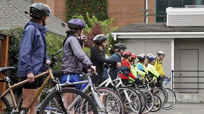 Bicycle Month celebrates bicycling, cautions riders
