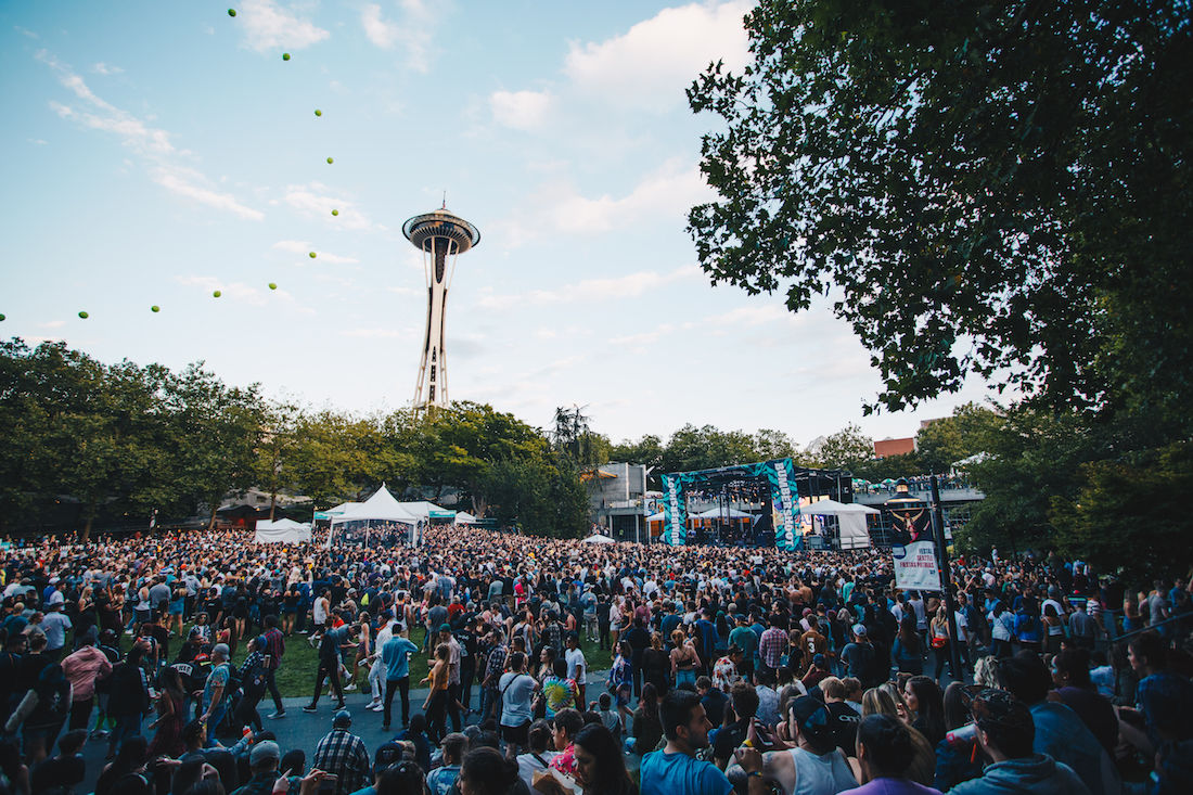 Photos: 2018 Bumbershoot day two continues to fill Seattle Center with color and excitement
