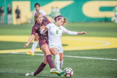 Oregon standouts Maryn Beutler and Caitlyn Wong named Pac-12 players of the week