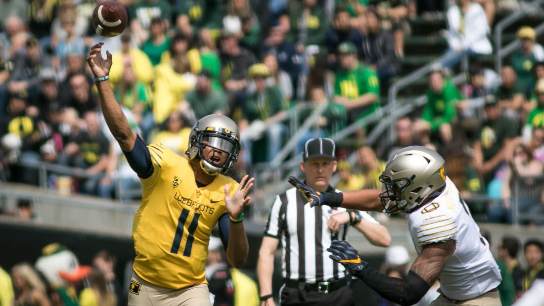 san francisco 6abc2 161f9 Photos: Football spring game — Mighty Oregon leads the ...