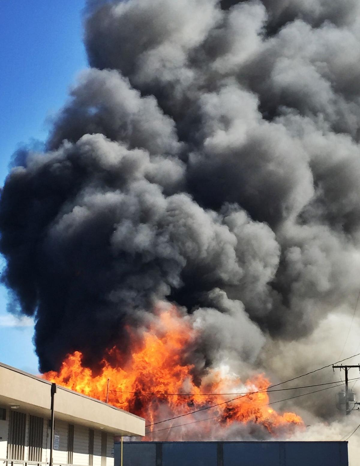 Timeline and photos from the Southtowne Lanes fire, now contained