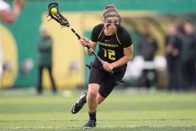 Carly O'Connell scores four in Oregon's loss to Denver