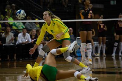 No. 14 Oregon volleyball upset at Utah