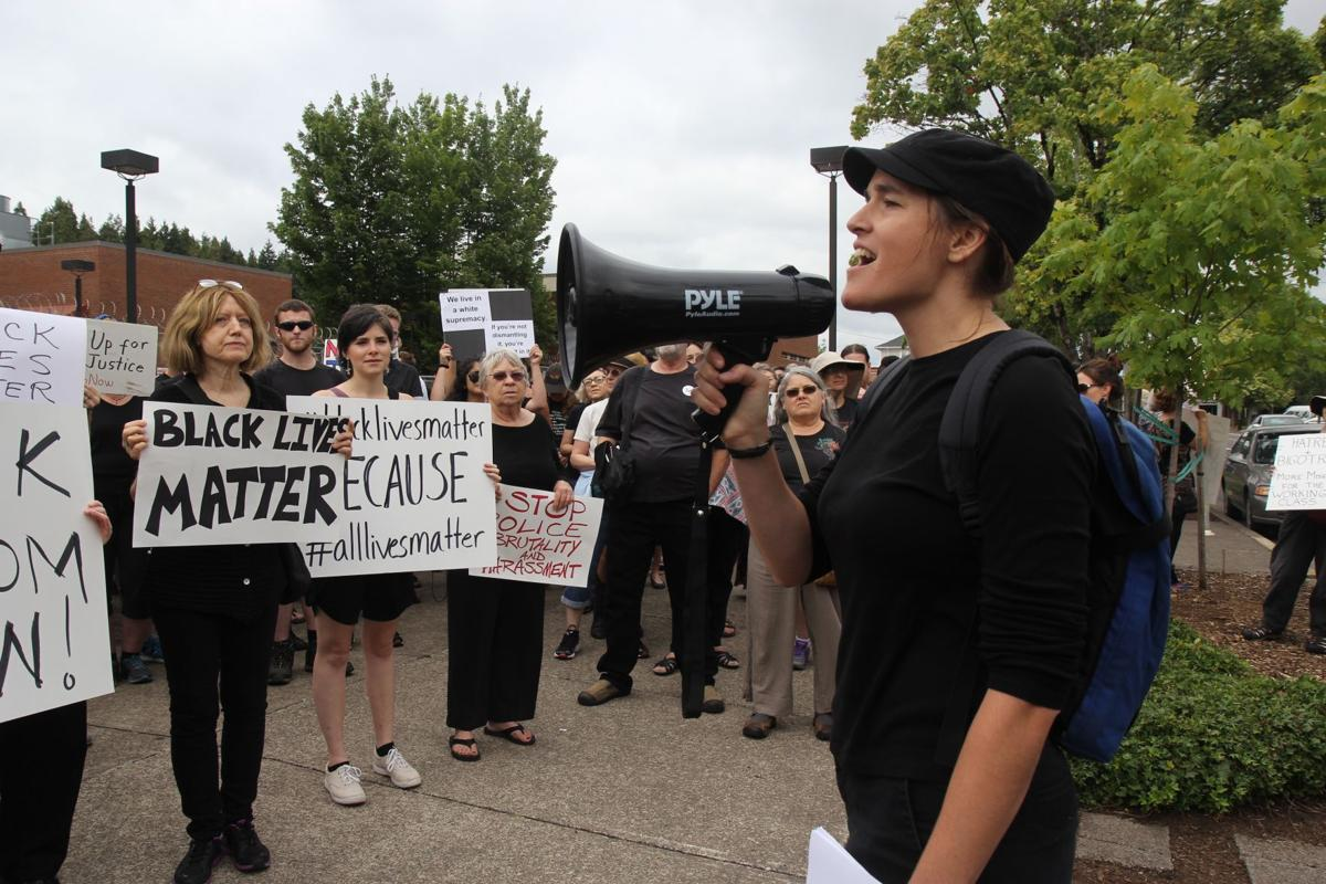 Peaceful rally for Black Lives drew members of Eugene, Springfield and UO campus in attendance