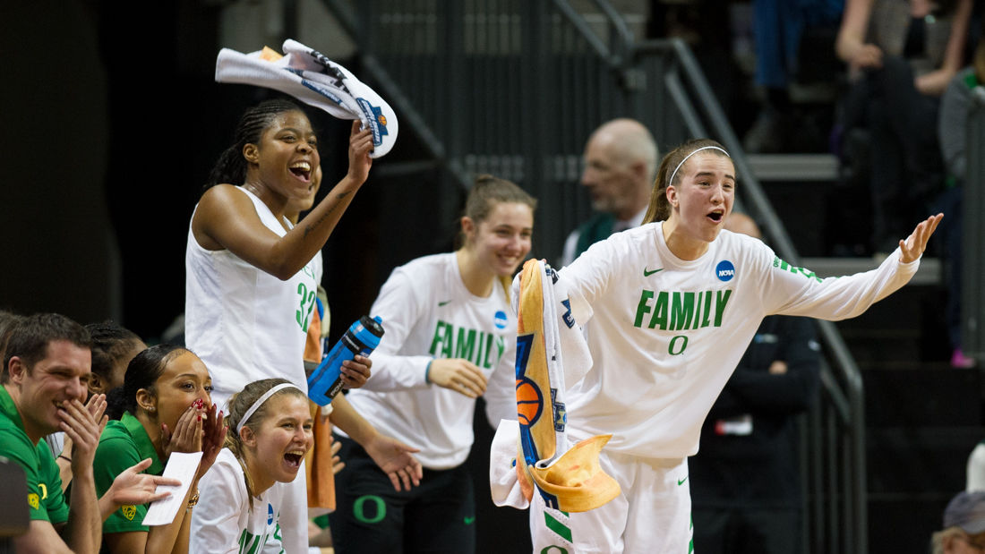 Photos: The Oregon Ducks blow out the Seattle Redhawks 88-45 in the first round of the NCAA tournament