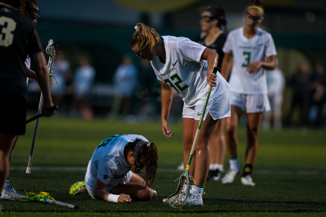 Photos: Oregon women's lacrosse falls to Colorado Buffs 14-8