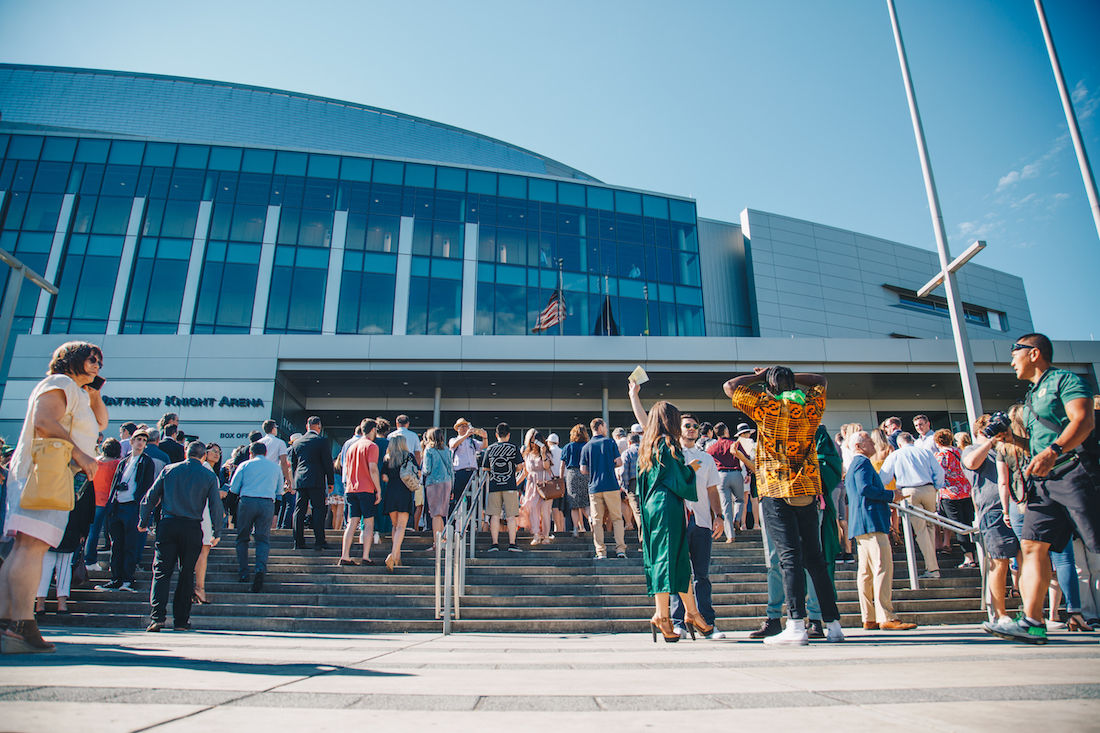 Photos: Thousands of graduating Ducks celebrate the 142nd University of Oregon Commencement