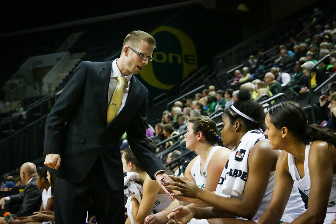 Mark Campbell's tireless approach helping Oregon women's basketball turn corner