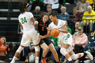 AP Poll: Oregon women's basketball moves up to No. 6 in latest rankings