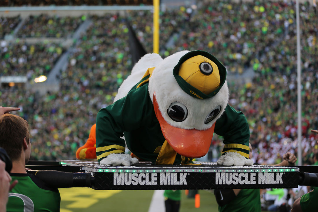 Where is home field advantage greatest in Oregon athletics?