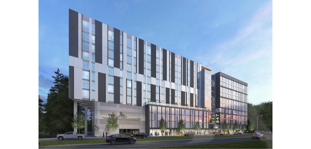 New 12-story student apartment complex will open Sept. 2019
