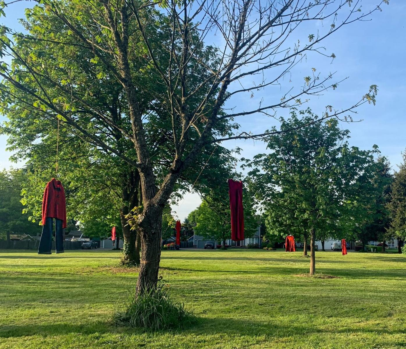 REDress poetry event honors missing and murdered Indigenous women
