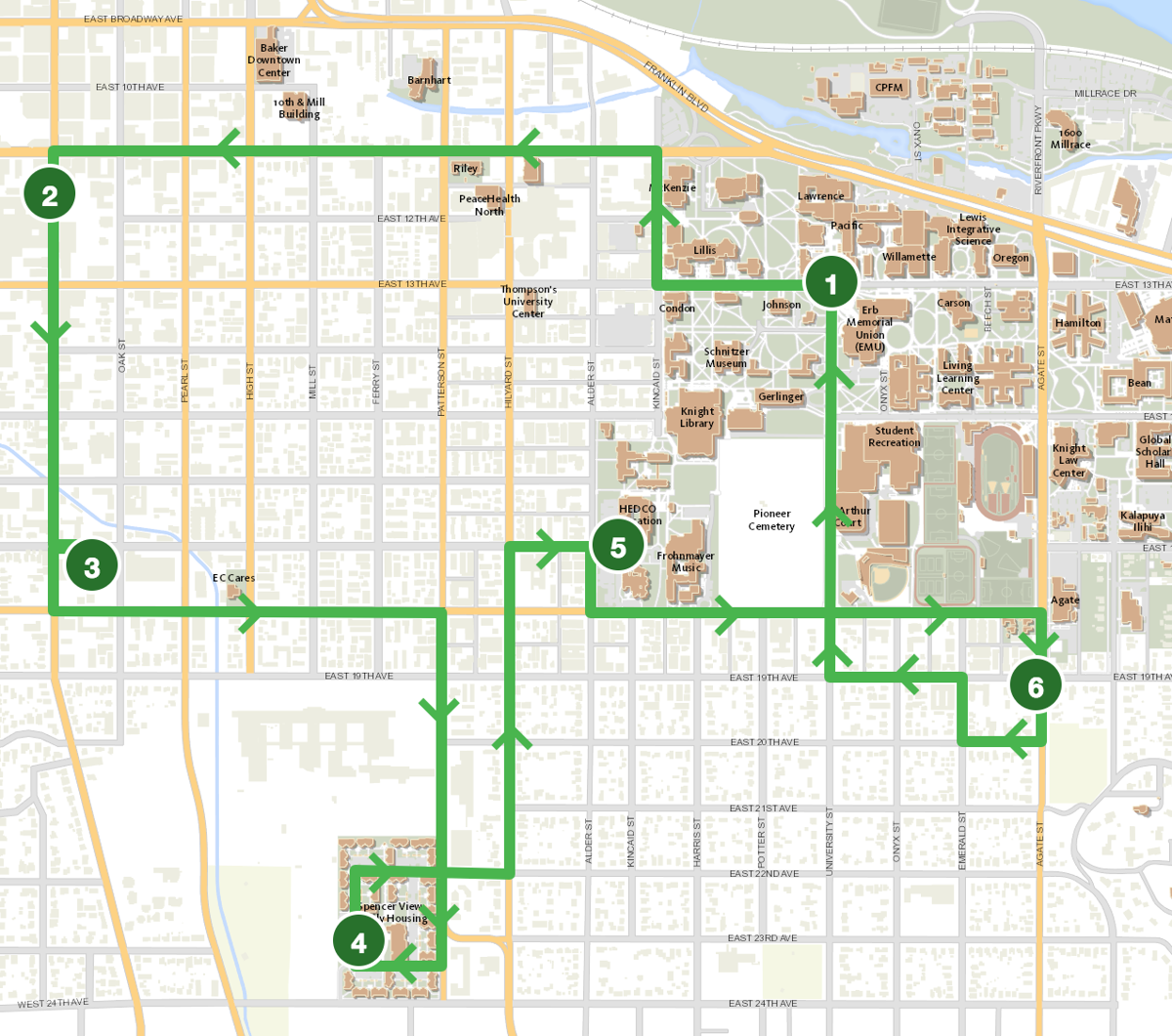 UO Campus Shuttle adds two off-campus routes due to recent ...