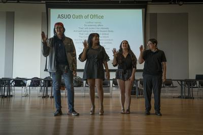 New ASUO members welcomed by outgoing members of ASUO administration