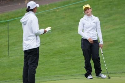 In her first tournament of the year, Kelsey Ulep leads Ducks to second place finish at Peg Barnard Invitational