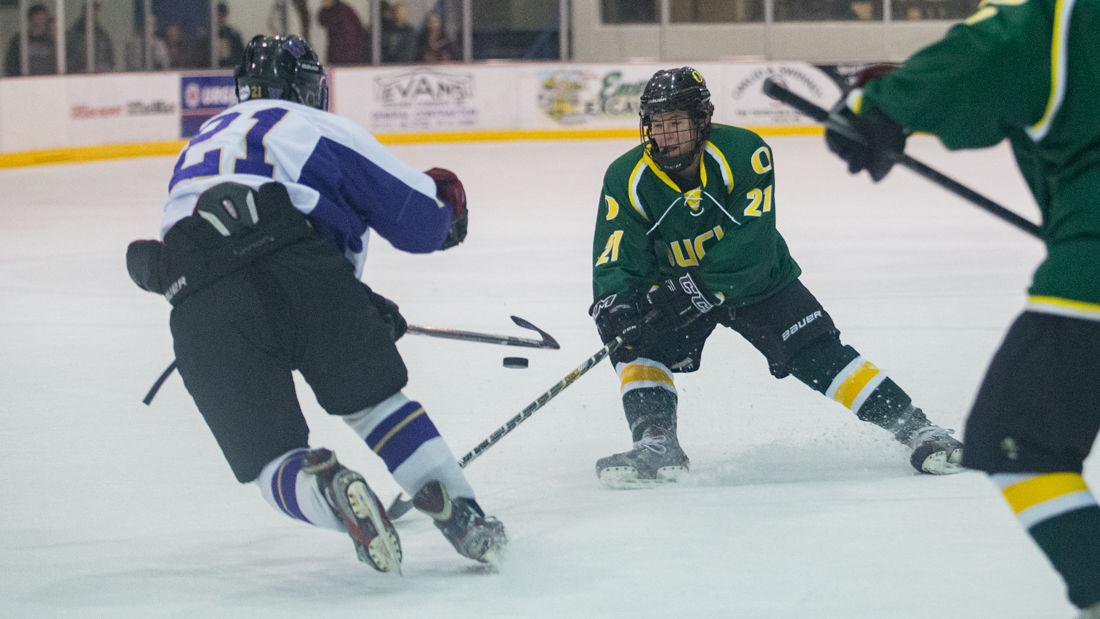 Photos: Oregon Club Hockey falls to Washington 11-5 in the 4th game of the I-5 Cup.