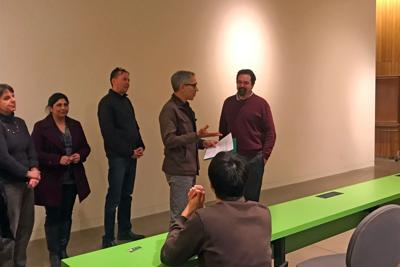 Three professors recognized for excellence in teaching