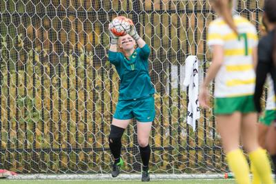 Ducks soccer unable to rally in 2-0 loss to Bruins