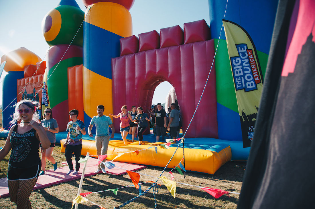 Photos: Big Bounce America brings the world's biggest bounce house to Eugene