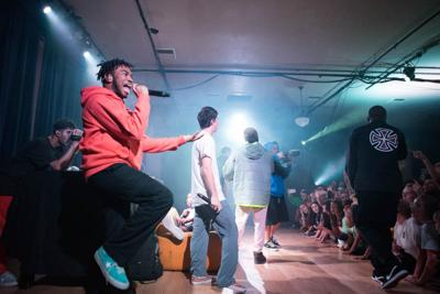 Review: Brockhampton interrupts its own rambunctious performance for an extended Q&A with fans at Portland's Crystal Ballroom
